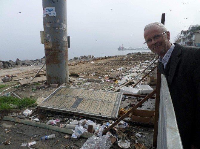 Mudanya Sahili Çöplüğe Döndü