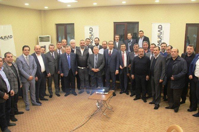 MÜSİAD'da Başkanlar Buluşması