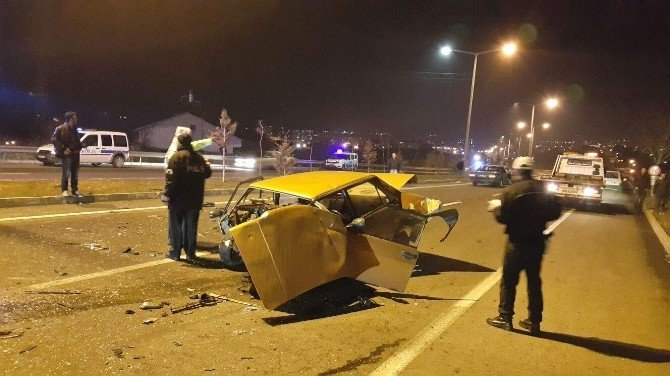 Nevşehir'de Zincirleme Trafik Kazası: 2 Yaralı