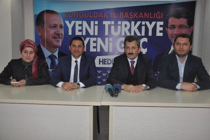 AK Parti İl Başkanı Zeki Tosun CHP İl Binasına Yapılan Taşlı Saldırıyı Kınadı