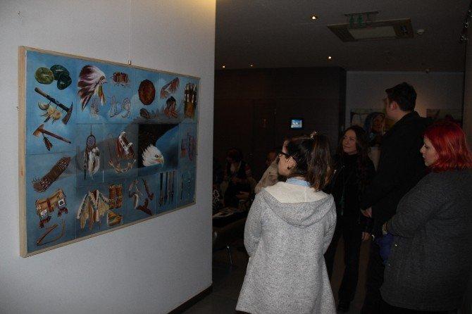 'Beşeri' Adlı Resim Sergisi Sanatseverlerle Buluştu