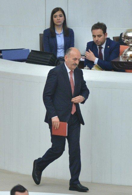 HDP'nin Bakan Müezzinoğlu Hakkında Verdiği Gensoru Önergesi Kabul Edilmedi