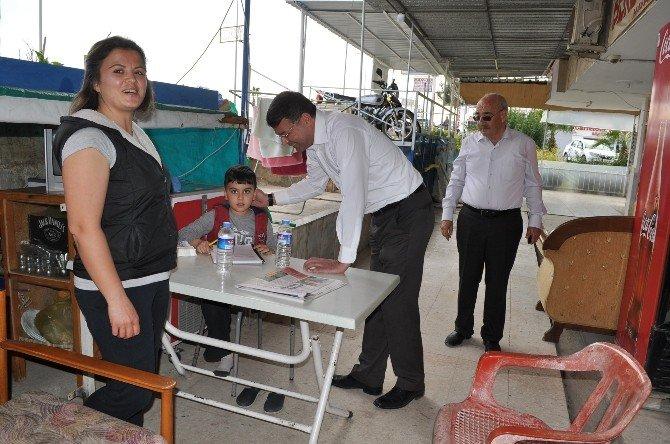 Başkan Turgut, Atakent Mahallesini Ziyaret Etti