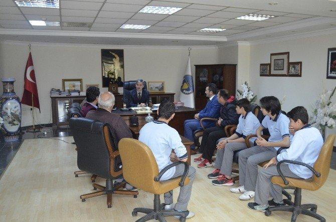 Başkan Şirin Manisa Şampiyonları'na Başarılar Diledi
