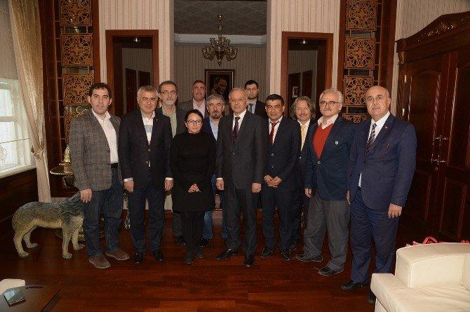 Türkiye Kent Konseyleri Birliği Yeni Dönem Başkanları Adana'da