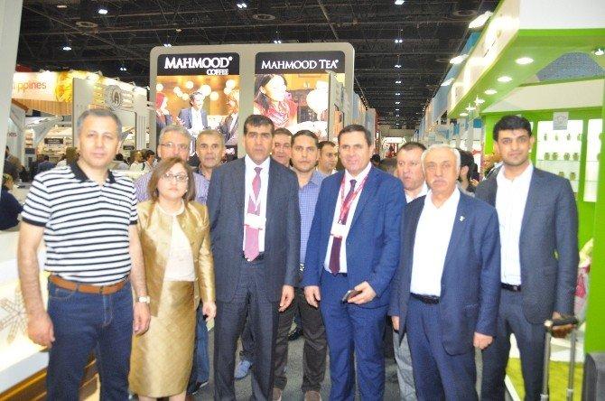 Vali Yerlikaya Ve Başkan Şahin'den Dubai Gulfood Fuarına Moral Ziyareti