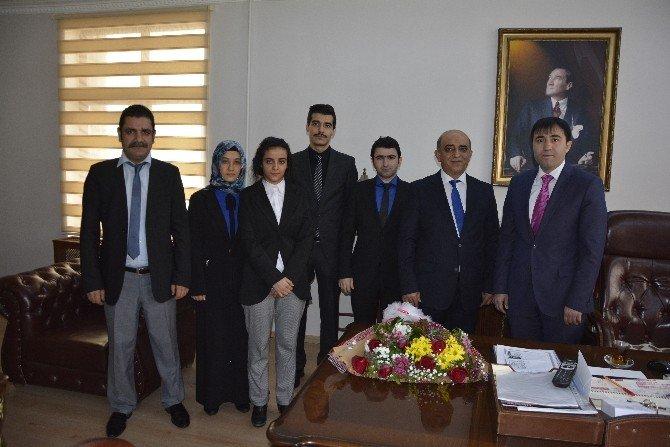 Vergi Dairesi Çalışanlarından Viranşehir Kaymakamı Dr. Huzeyfe Citer'e Ziyareti