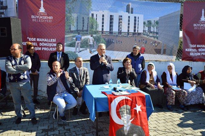 Ege Mahallesi ve Uzundere'de şehir dönüşümü başlıyor