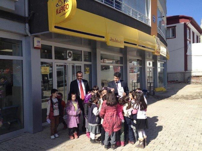 Yozgat'ta Minikler İlk Mektuplarını Cumhurbaşkanı'na Gönderdi