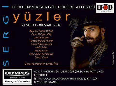 Efod, 'Yüzler' Sergisini İstanbul'da Açıyor