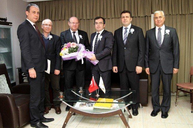 Vergi Dairesi Başkanı Tunalı'dan Çgc Ziyareti
