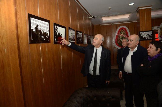 Liderlerin Adana ziyaretlerindeki fotoğrafları sergiye dönüştü