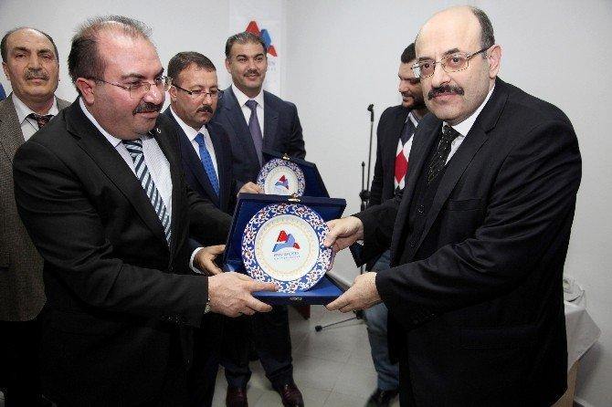 Ağrı İbrahim Çeçen Üniversitesi YÖK Başkanı'nı Ağırladı