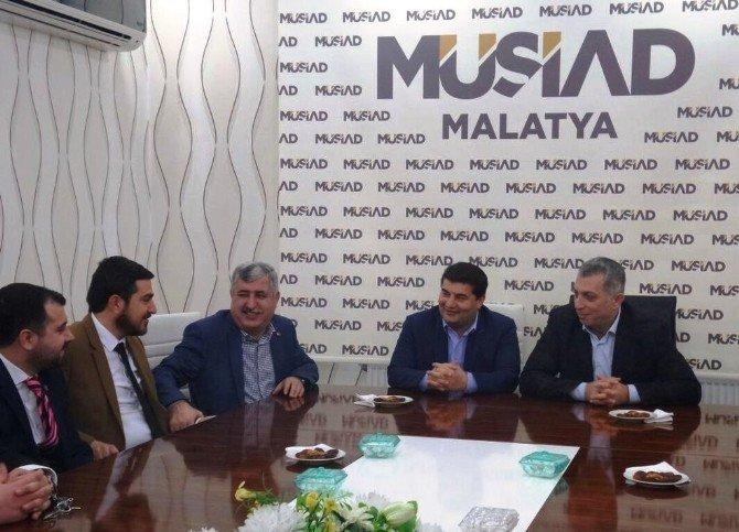 AK Parti İstanbul Milletvekili Metin Külünk'den MÜSİAD'a Ziyaret