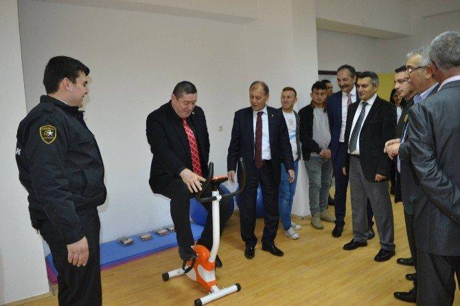 Alaplı'da Engellilere Öğrencilere Yönelik Spor Merkezi Açıldı