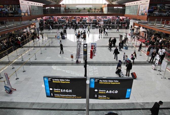 Uçakta kaçak yolcu krizi
