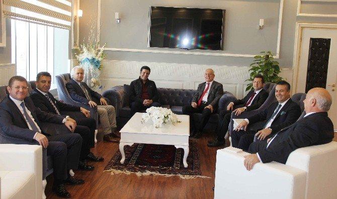 Ansiad'dan Başkan Genç'e Ziyaret