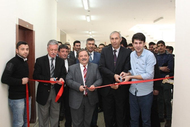 BEÜ'de Elektrik Elektronik Mühendisliği Bölüm Laboratuvarları Açıldı