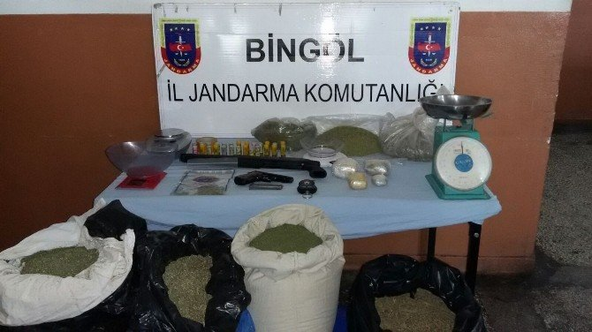 Bingöl'de Uyuşturucu Tacirlerine Darbe