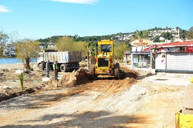 Bitez Ve Turgutreis'te Çalışmalar Sürüyor