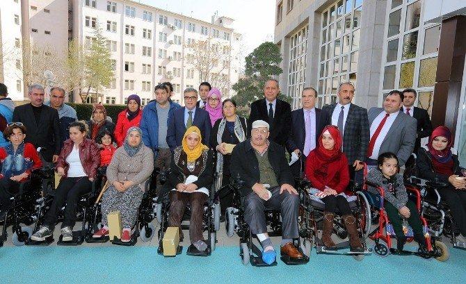 Büyükşehir'den Engellilere Sevindiren Yardım