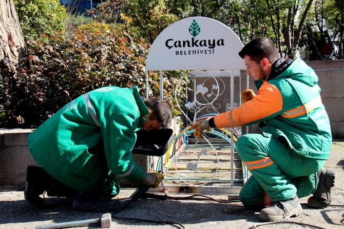 Çankaya Belediyesi, Siyasal Bilgiler öğrencilerine bisiklet parkı yaptı