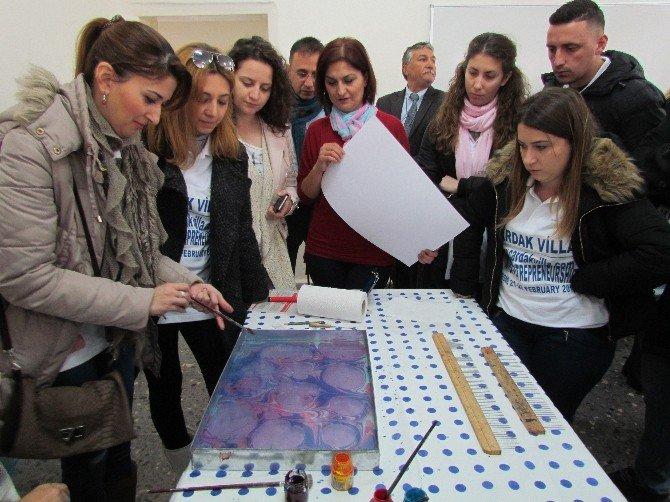 8 Ülkeden Genç Kadın Girişimciler Çeşme'de
