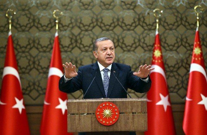 Cumhurbaşkanı Erdoğan'dan 'Terörle Mücadelede Kararlılık' Mesajı