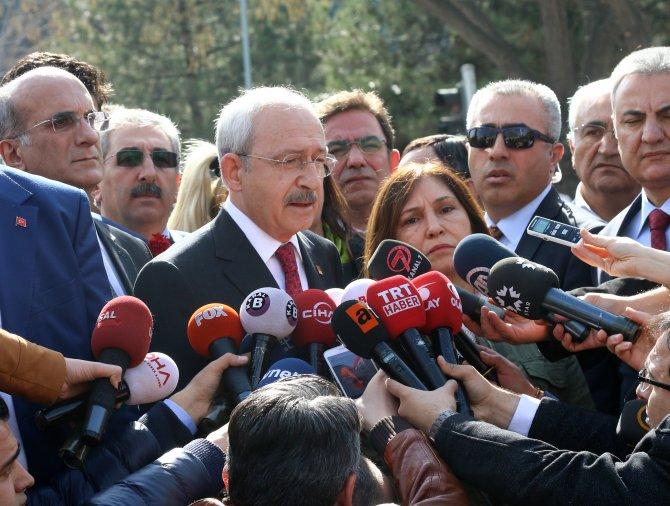 Kılıçdaroğlu: Sen de terör ithal ediyorsun
