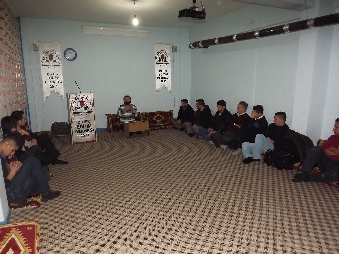 Görme Engelli Vatandaşlara Yönelik Sohbet Programı Düzenlendi