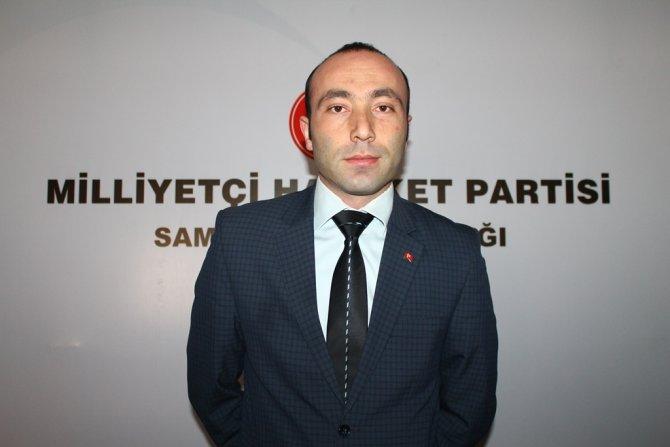 MHP Samsun İl Başkanlığı'nda yeni yönetim göreve başladı
