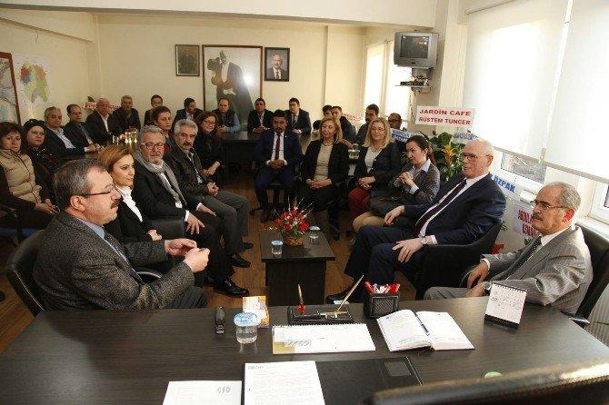 Büyükerşen Ve Kurt'tan CHP Eskişehir Yönetimine Ziyaret