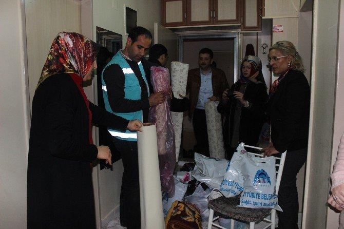 Eyyübiye Belediyesi'nin Umut Masası Meyvesini Vermeye Başladı