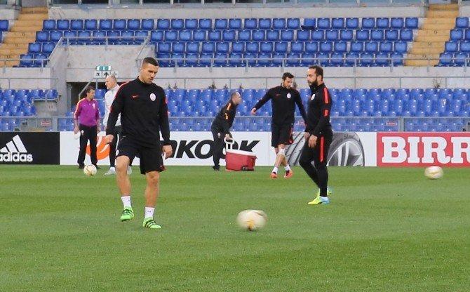 Galatasaray, Lazio Maçına Hazır