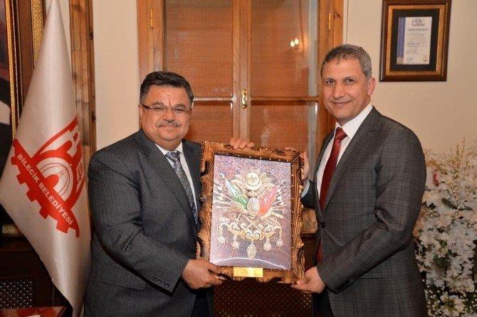 OEDAŞ Genel Müdürü Köker'den Başkan Yağcı'ya Ziyaret