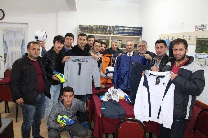 Başkan Bozkurt'un Spora Desteği Sürüyor
