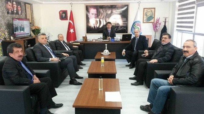 Karayolları 15. Bölge Müdürü Özendi Cide'yi Ziyaret Etti