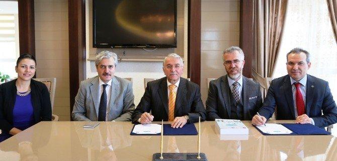 Kırgızistan-türkiye Manas Üniversitesi İle ESOGÜ Arasında İşbirliği Protokolü