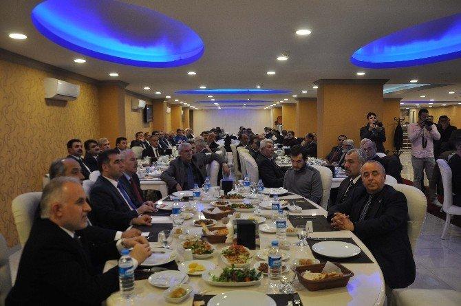 Kızılay Bölge Toplantısı Muş'ta Yapıldı