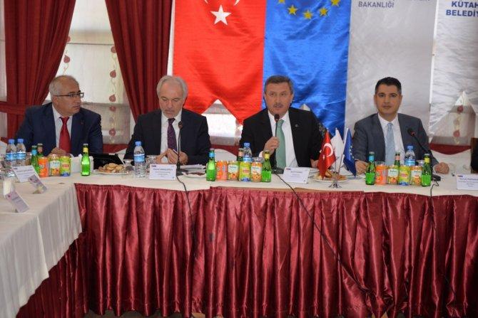 Kütahya'ya 18 milyon Euro'luk atık su arıtma tesisi