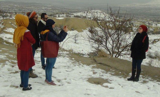 LÖSEV'in gençleri Kapadokya'ya hayran kaldı