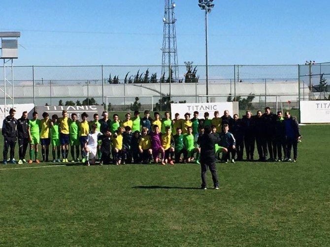 Geleceğin Futbolcularından İlk Uluslararası Tecrübe