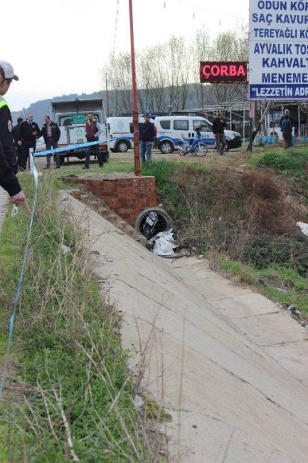 Salihli'de Motosiklet Kazası: 1 Ölü