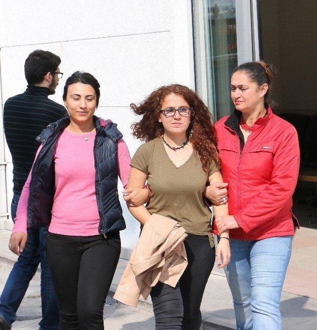 MEÜ'de Terör Propagandasına Polis Müdahalesi