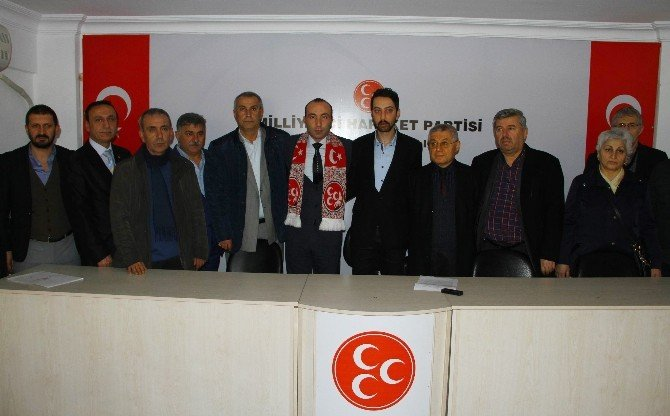 Samsun'da MHP'nin Yeni İl Başkanı Taner Tekin Oldu