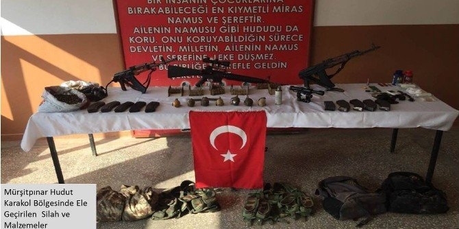 PKK'ya Yardım İçin Sınırı Geçen 2 YPG'li Yakalandı
