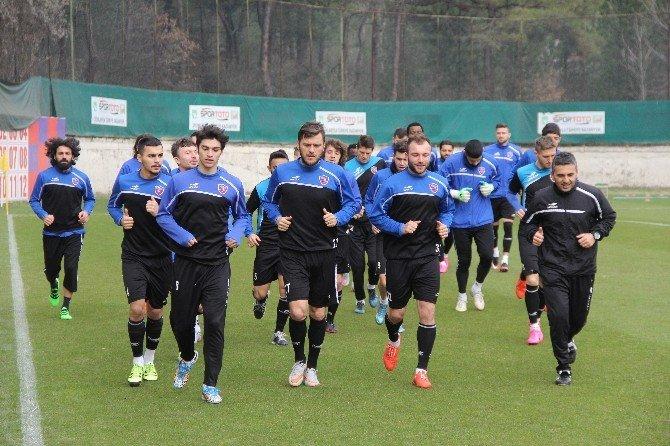 Karabükspor'da Altınordu Maçı Hazırlıkları Başladı