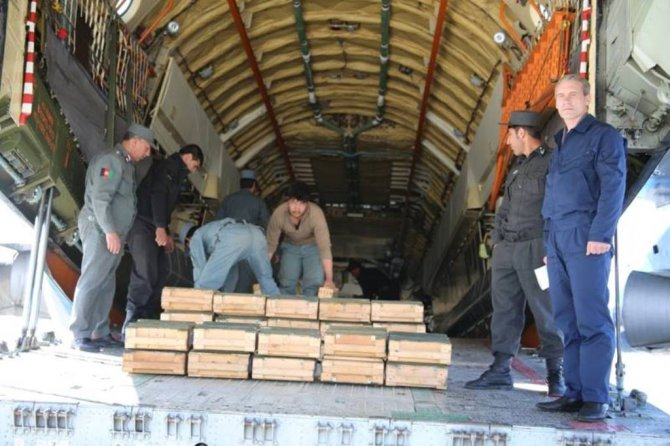 Rusya'dan Afganistan'a 10 bin adet kalaşnikof