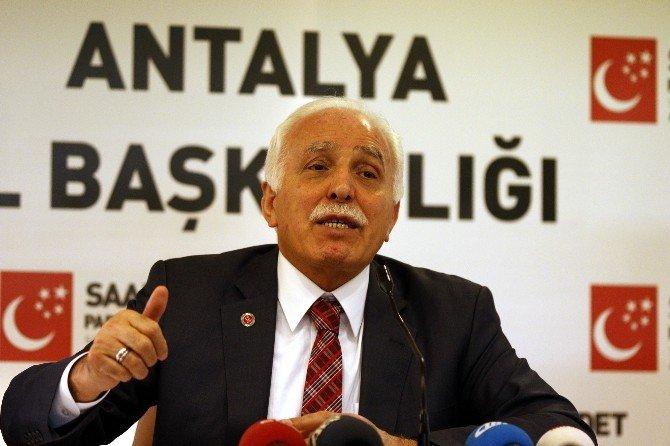 """SP Genel Başkanı Kamalak: """"Bütün Gücümüzle Hükümetin Yanındayız"""""""