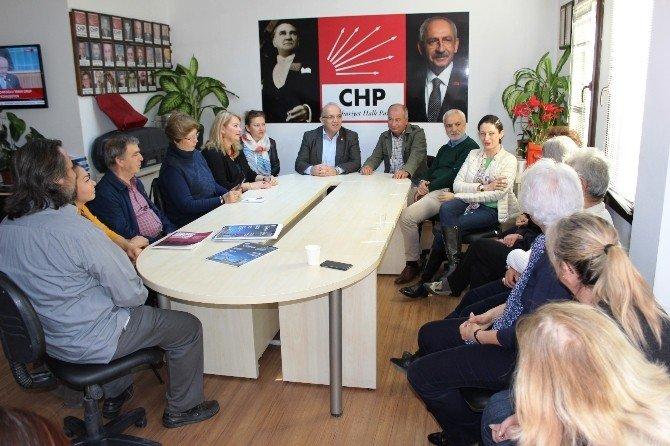 CHP'li Pavey'den, Mülteci Sorunları İçin Bodrum'da
